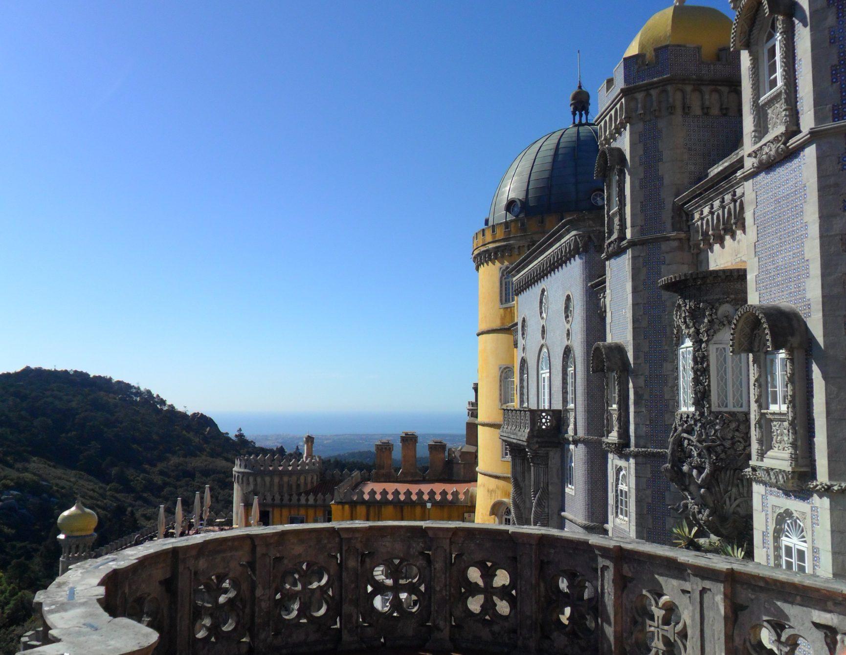 Moonluza w Parku Pena w Sintrze