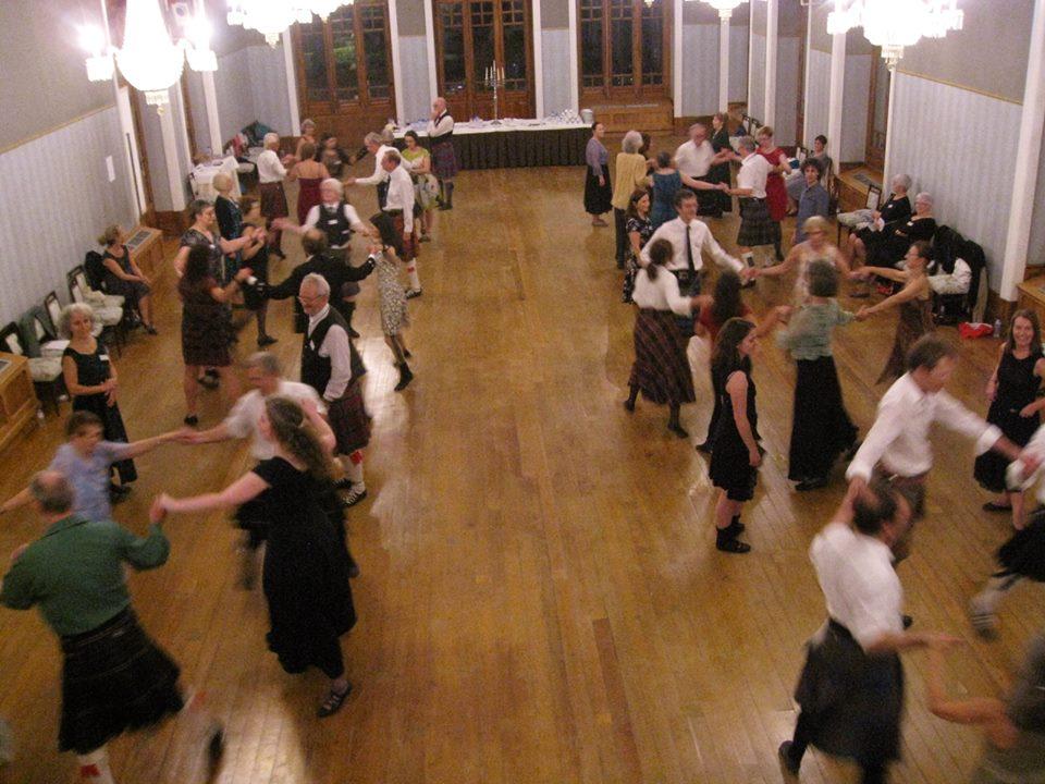 V Fim-de-Semana da Dança Escocesa - Curia 2018