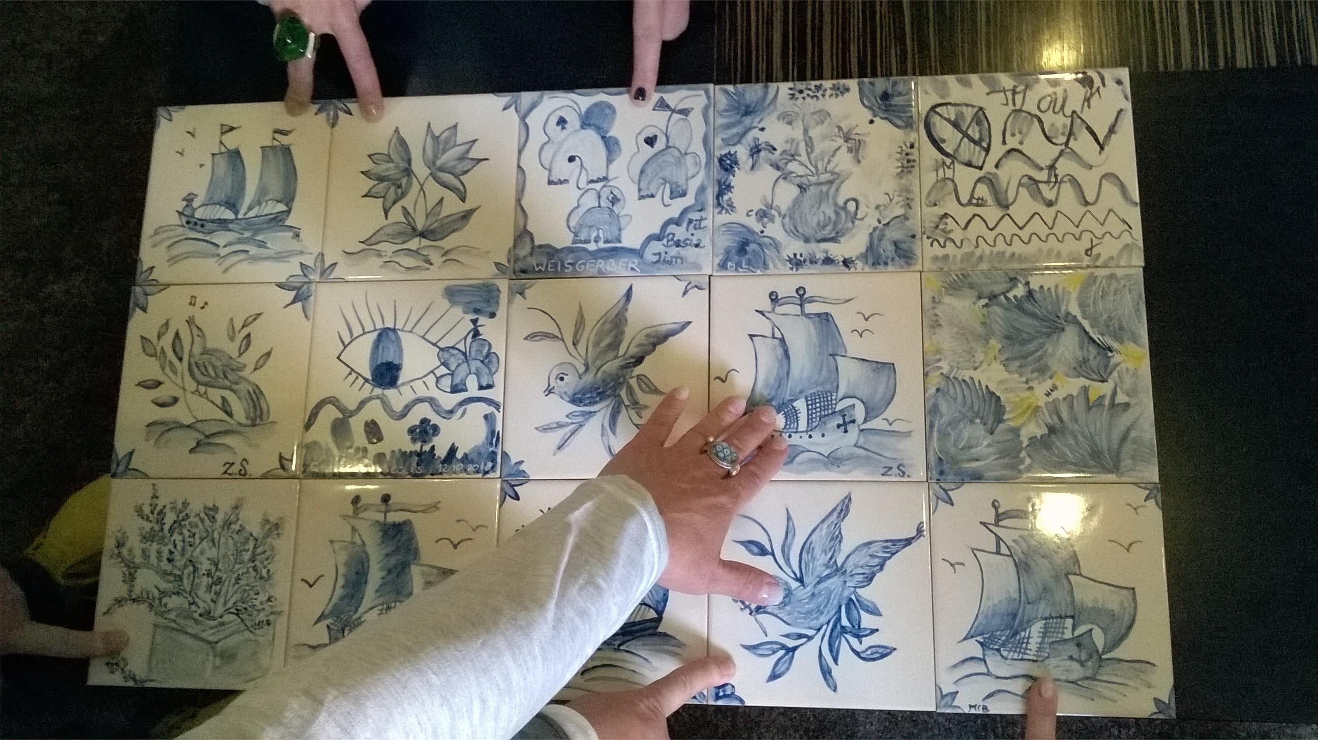 Portugalia na kafelku Azulejo - w kobiecym gronie